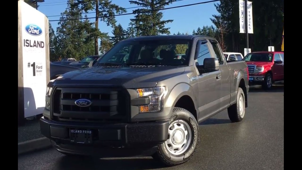 2016 Ford F 150 XL SuperCab 4X4 Cab Door Opens 180 degrees Review