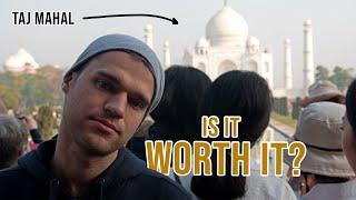 Why I didn't like visiting the TAJ MAHAL | Agra, India 🇮🇳