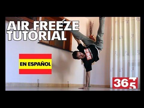 Tutorial - Air Freeze (Break Dance)