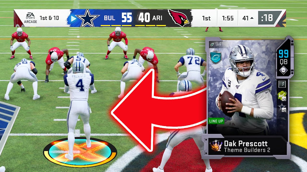 Ea Wouldnt Do It So I Made Dak Prescott A 99 Overall Madden 20 Ultimate Team Youtube