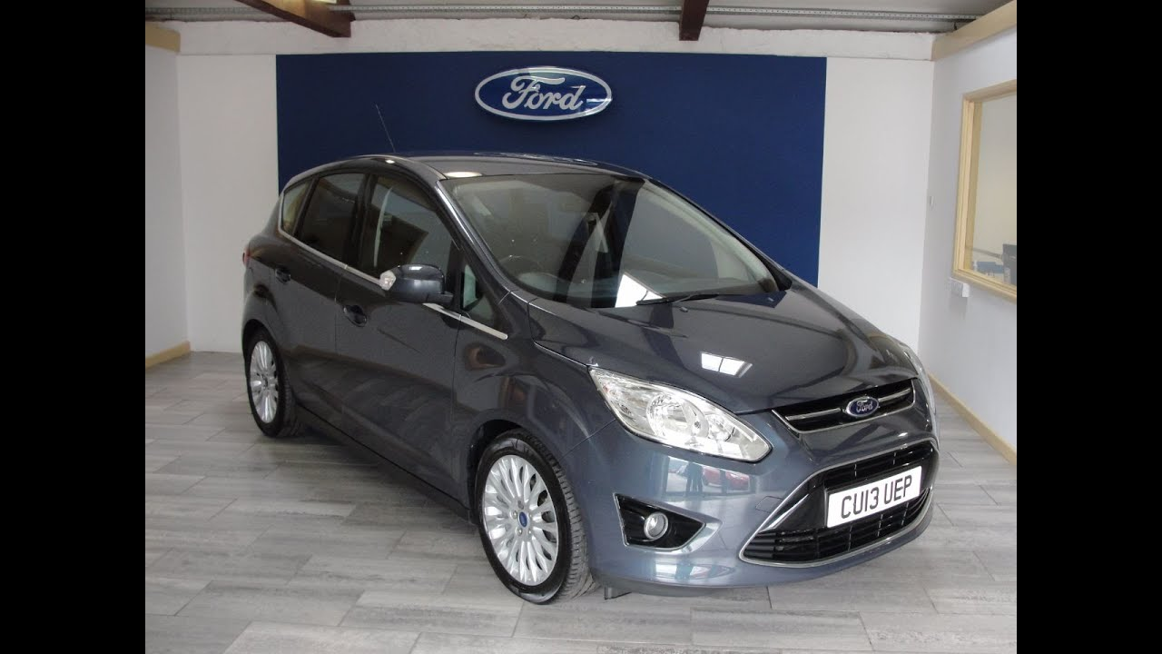 2013 ford c max 1 6 tdci 115 titanium youtube. Black Bedroom Furniture Sets. Home Design Ideas