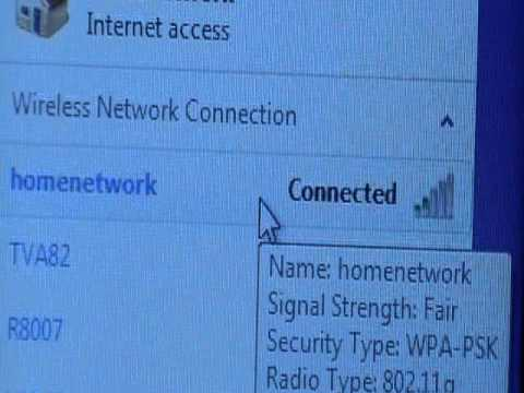 how to change password on your internet connection