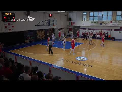 LNP Playoff Serie B 2018 Gara 4 Semifinali Tab  1   Urania Milano vs Pall  Piacentina