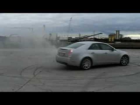 Cadillac Cts 3 6 V6 Drift Youtube