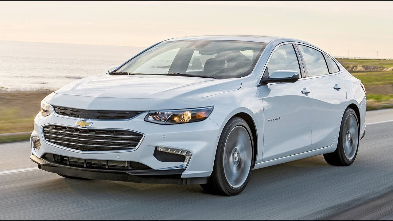 2016 Chevrolet Malibu Review - 1.5L and 2.0L Turbo Engines - YouTube