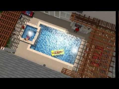 custom pool design mirage robert elliot custom homes dallas texas winding lake