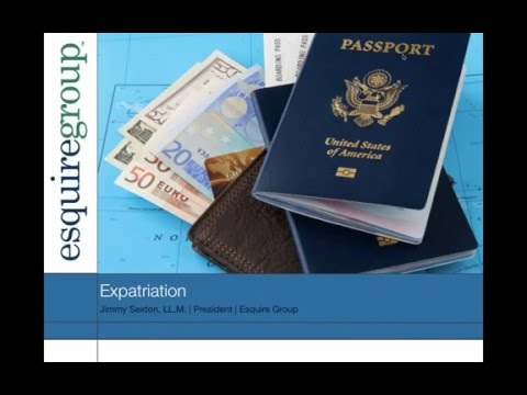 Expatriation - March 2016 Webinar