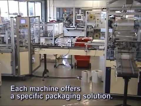 Sollas Packaging Line For Tobacco Products, Handling Tins With Cigarettes.