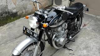 Honda cb450 blackbomber 1965~Indonesia collection Bike~WA 085880555758