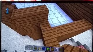 Minecraft Tutorial how to build a City episode # 1 how to build a hotel Pt 1