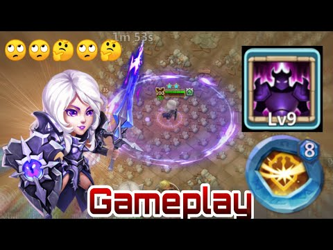 Rosaleen | 9/9 Wicked Armor | 8 Survival | Raids/Dungeon | Castle Clash