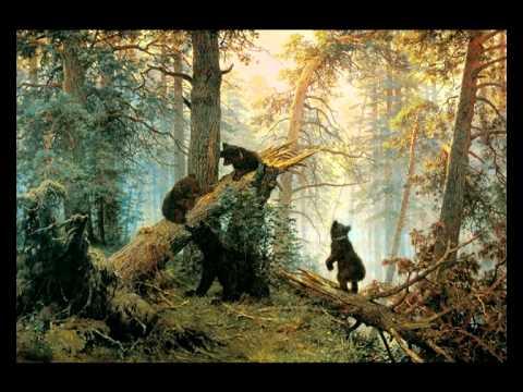 Иван Шишкин, Константин Савицкий «Утро в сосновом лесу» 1889