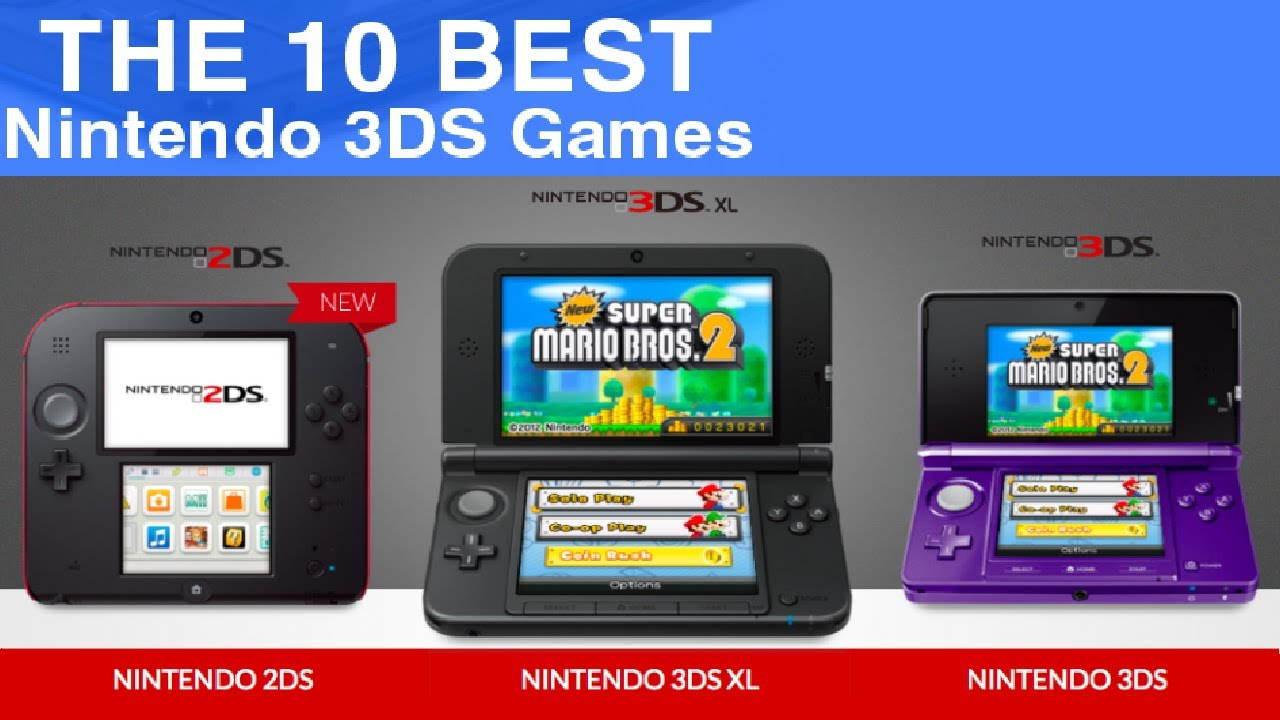 TOP 10 BEST GAMES | Nintendo 3DS 2016 - YouTube