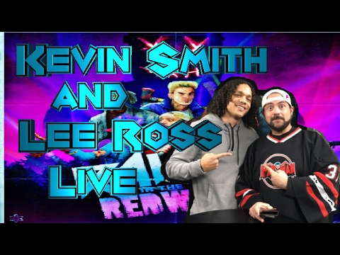 Kevin Smith and Lee Ross Twitch Live Stream Rave in the Redwoods Infinite Warfare DLC 1