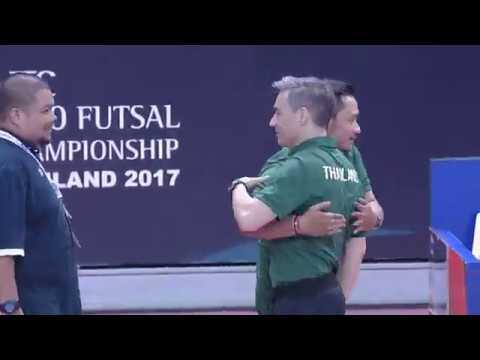 ไฮไลท์ฟุตซอล ยู20 ชิงแชมป์เอเชีย 2017 ไทย 5-2มาเลย์เซีย
