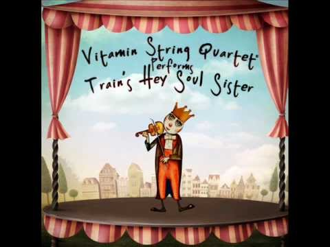 Hey Soul Sister - Vitamin String Quartet Performs Train