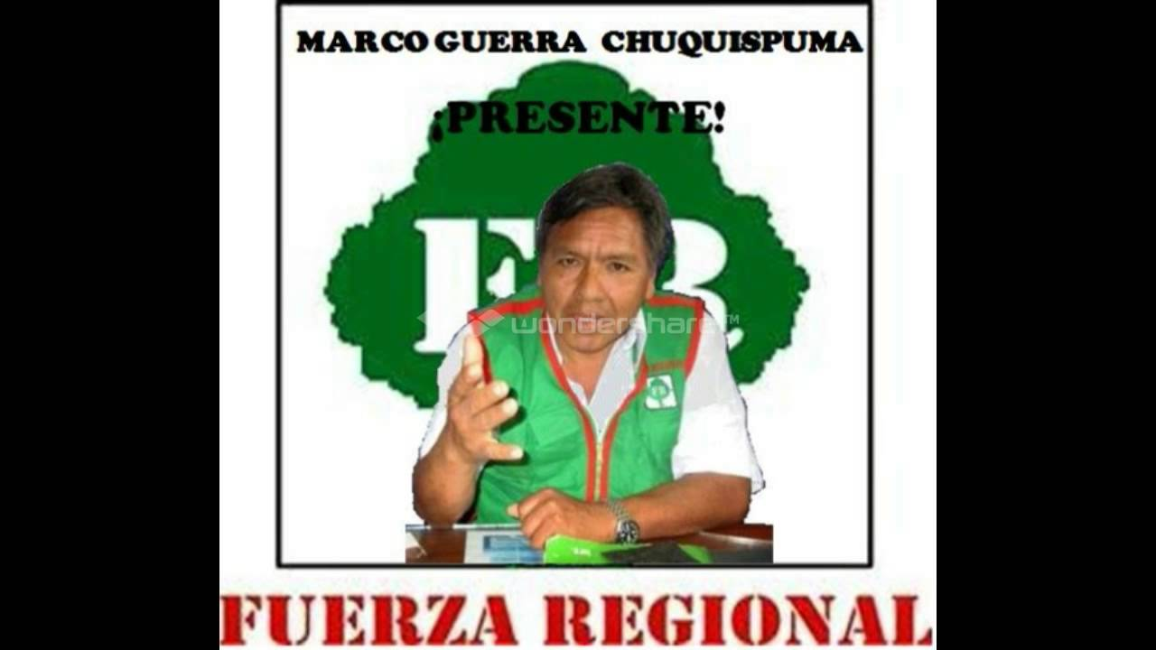 PARA MI MEJOR AMIGO, MARCO GUERRA CHUQUISPUMA, PRESENTE!!!! - YouTube