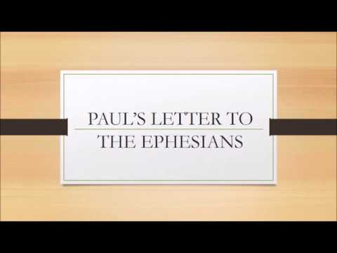 How to Study the Bible/Book of Ephesians