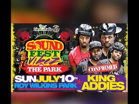 Irish & Chin Sound Fest 2016 Roy Wilkins Park ( King Addies & Soul Supreme )
