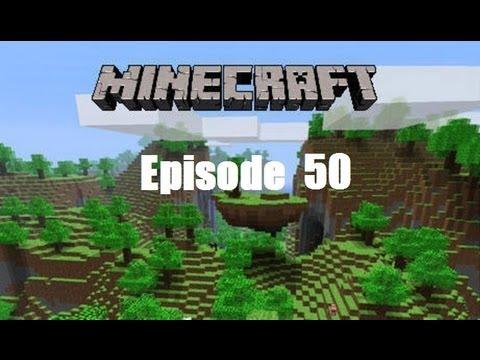 Minecraft 1.5 (PC) Complete HD Walkthrough Episode 50 - Collecting Minerals