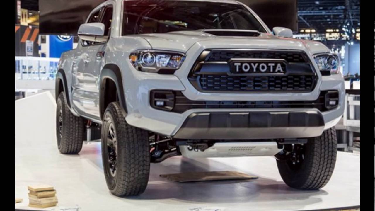2016 2017 Toyota Tacoma Trd Pro New Price Release Date Specs You