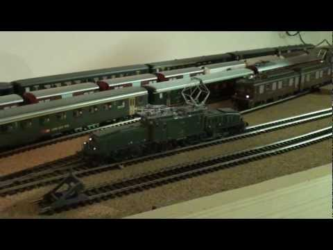 SBB Ce 6/8 II Krokodil | Switching locomotive for the Gotthard mountain pass