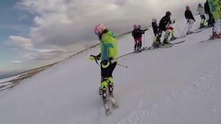El Trofeo Monachil abre la Copa de Andalucía alpino infantil
