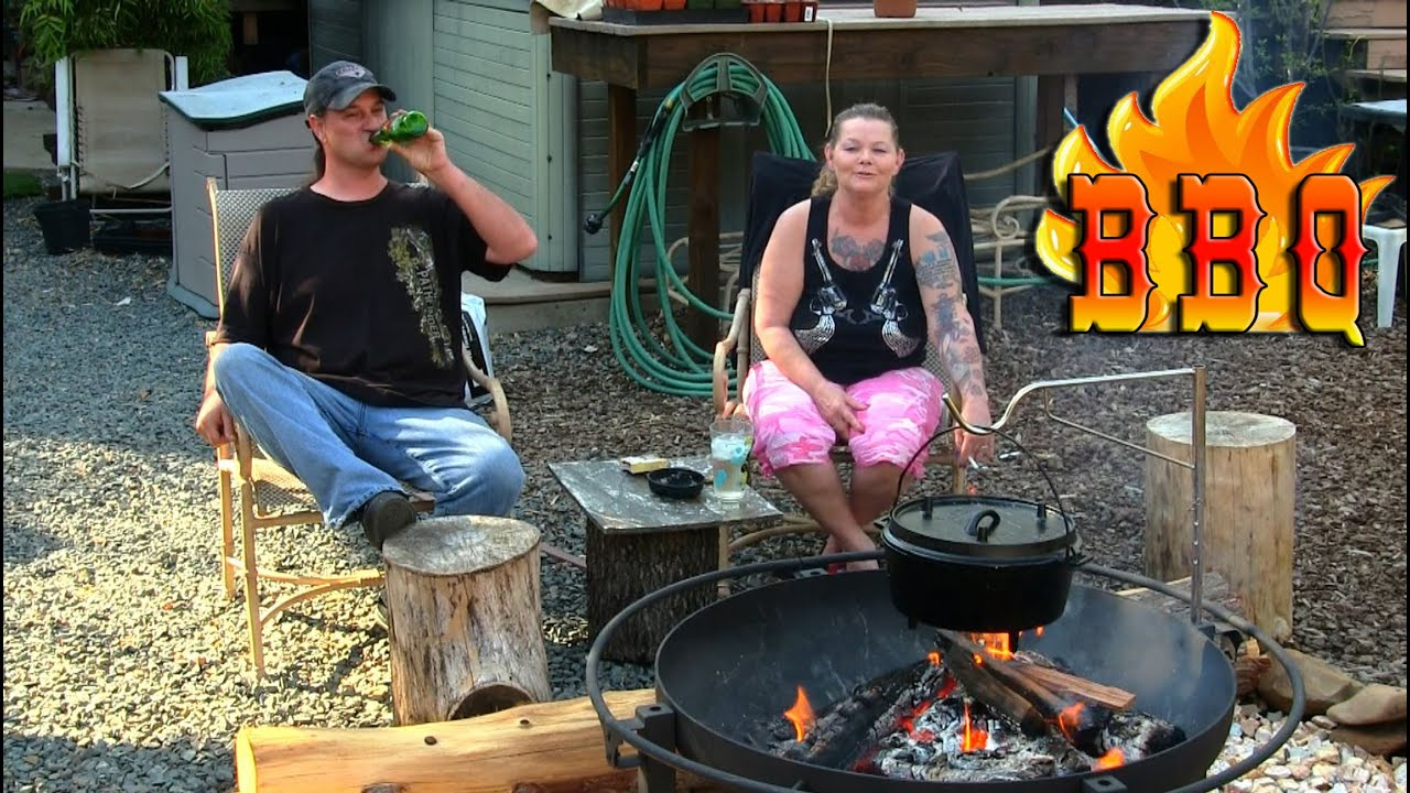 Camp Chef Fire Pit Chile In The Dutch Oven Youtube