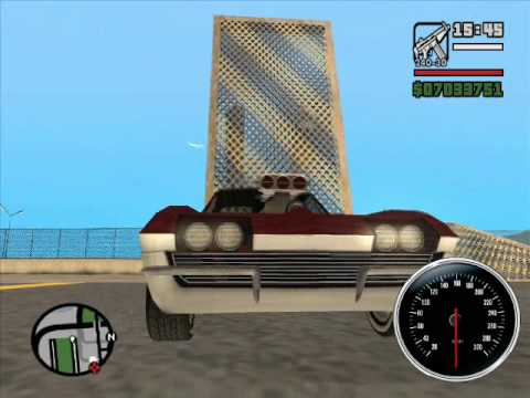 Gta San Andreas 1963 Chevrolet Corvette Wheelie Youtube