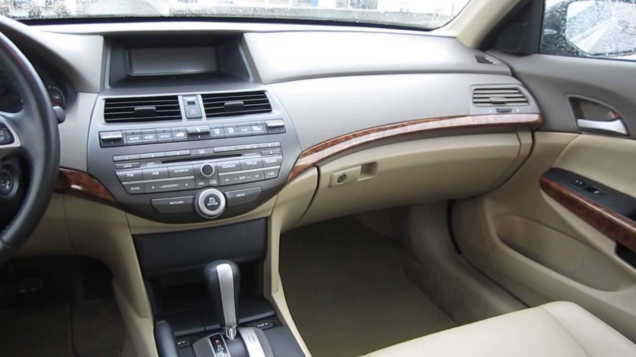 Attractive 2010 Honda Accord, Bold Beige Metallic   STOCK# 12920P   Interior