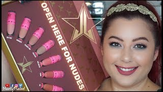 JEFFREE STAR COSMETICS MINI VELOUR LIQUID LIPS REVIEW & LIVE SWATCHES