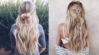 Beautiful hairstyle for Long Hair ★ Hairstyle video tutorial ★ Everyday hairstyles