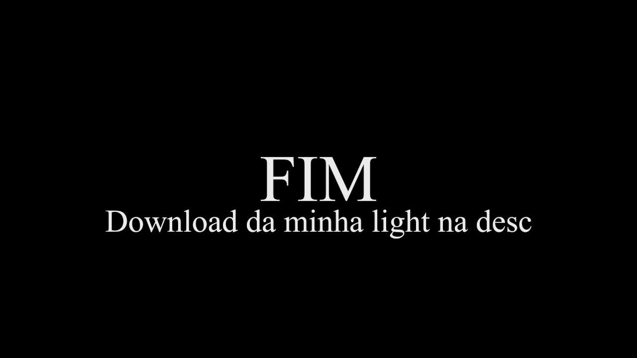 Fim - LightRoom e Explicações na desc'