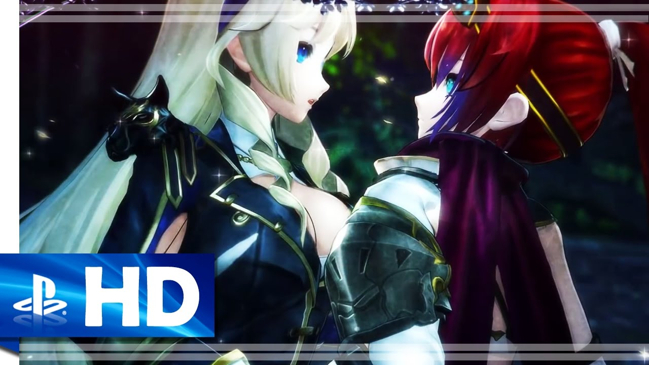 Download Nights of Azure 2: Bride of the New Moon (2016) Official Game Trailer - PS4, PS Vita