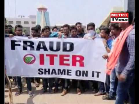 SOA students protest in front of ITER