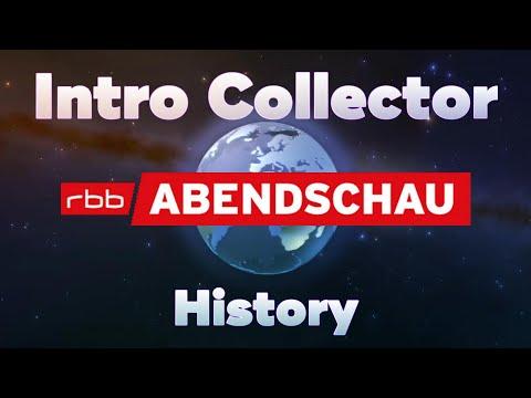 Geschichte der Abendschau-Intros des RBB - Intro Collector History