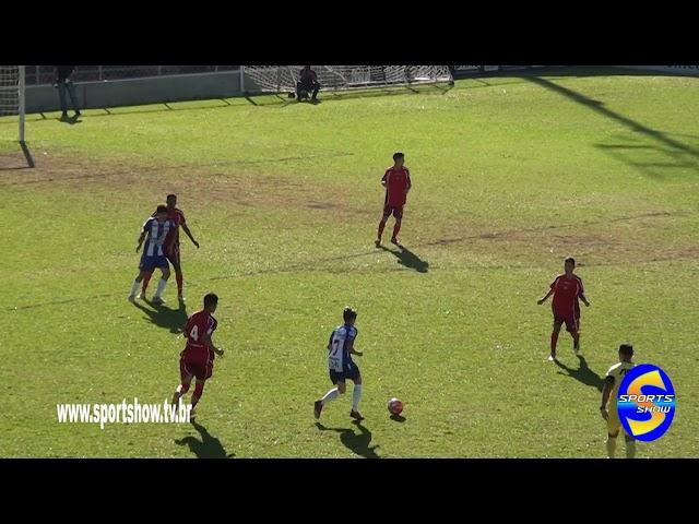Gols de Nacional 1 X 5 Ituano cat sub 15 campeonato paulista de futebol 2019