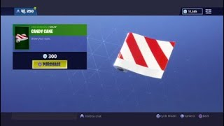 (Fortnite) buying the Red-nose raider, candy axe +more!!!