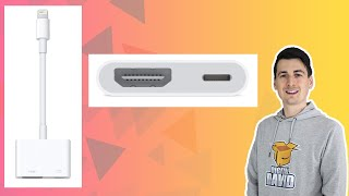 iPhone to TV // Apple Lightning to HDMI Adapter // iPad to TV