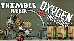 How to Grow Thimble Reed & Get Thimble Fiber - Oxygen Not Included Tutorial/Guide