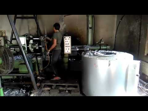 ELECTRIC HOLDING FURNACE, PRESSURE DIE CASTING, Recycling Plants, Congo
