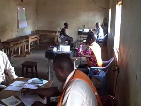 Democratic Republic of the Congo -Voter Registration