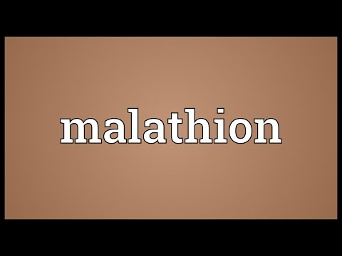 Header of malathion