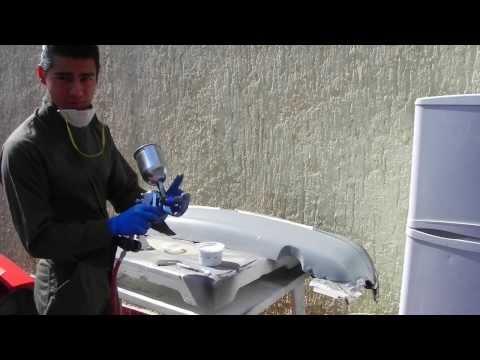 Como preparar pintura Base Color (Bicapa)