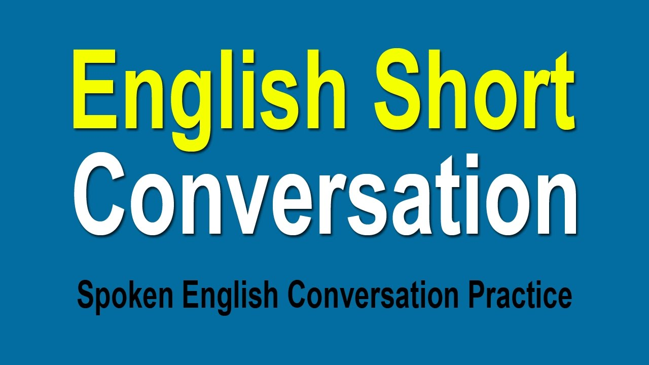 English Speaking Conversation Pdf
