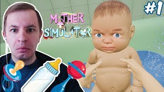 ТРУДНЫЙ РЕБЕНОК - Mother Simulator / Симулятор матери #1