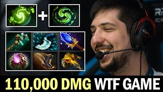 W33 110,000 Damage Caŗry the Game with IMBA Triple Ulti
