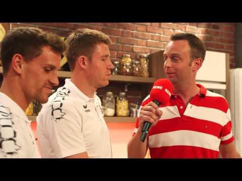 Live-Cooking mit dem 1. FC Köln