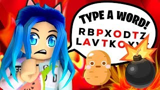 Type a word or you explode in Roblox!