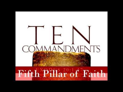 The Seven Pillars of our Faith